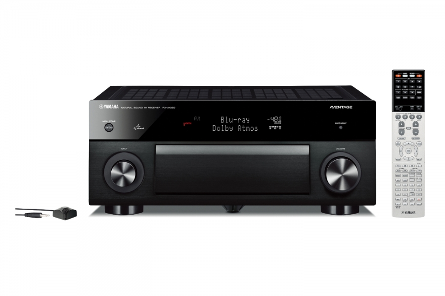 offers dolby atmos® and high-grade audio with the latest ess dac, a  symmetrical amp layout and a rigid chassis  this 7 2-channel aventage  network av