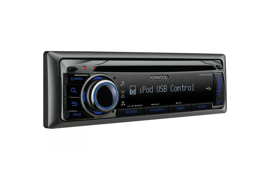 1din USB-tuner Kenwood kmr-m308bte