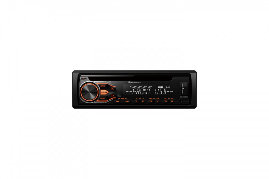 Catalog soundservice professional car and home audio and video deh 1800uba car stereo with rds tuner cd usb and aux in russian model simple but smart the deh 1800uba lets you enjoy your favourite music from fm publicscrutiny Images