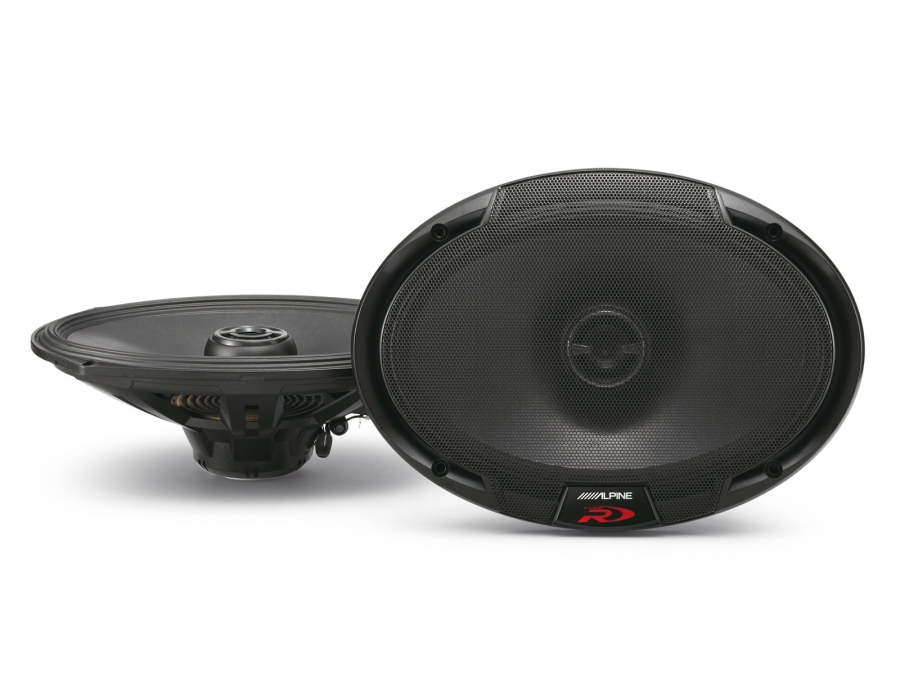 "ALPINE SPR-69 6X9/"" 2-WAY CAR AUDIO TYPE-R SERIES NEW COAXIAL CAR SPEAKERS SPR69"